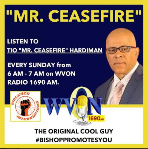 Mr. Cease Fire Show at WVON